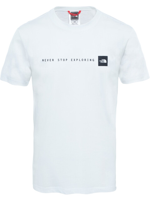 The North Face Never Stop Exploring S/S Tee Men TNF White/TNF Black
